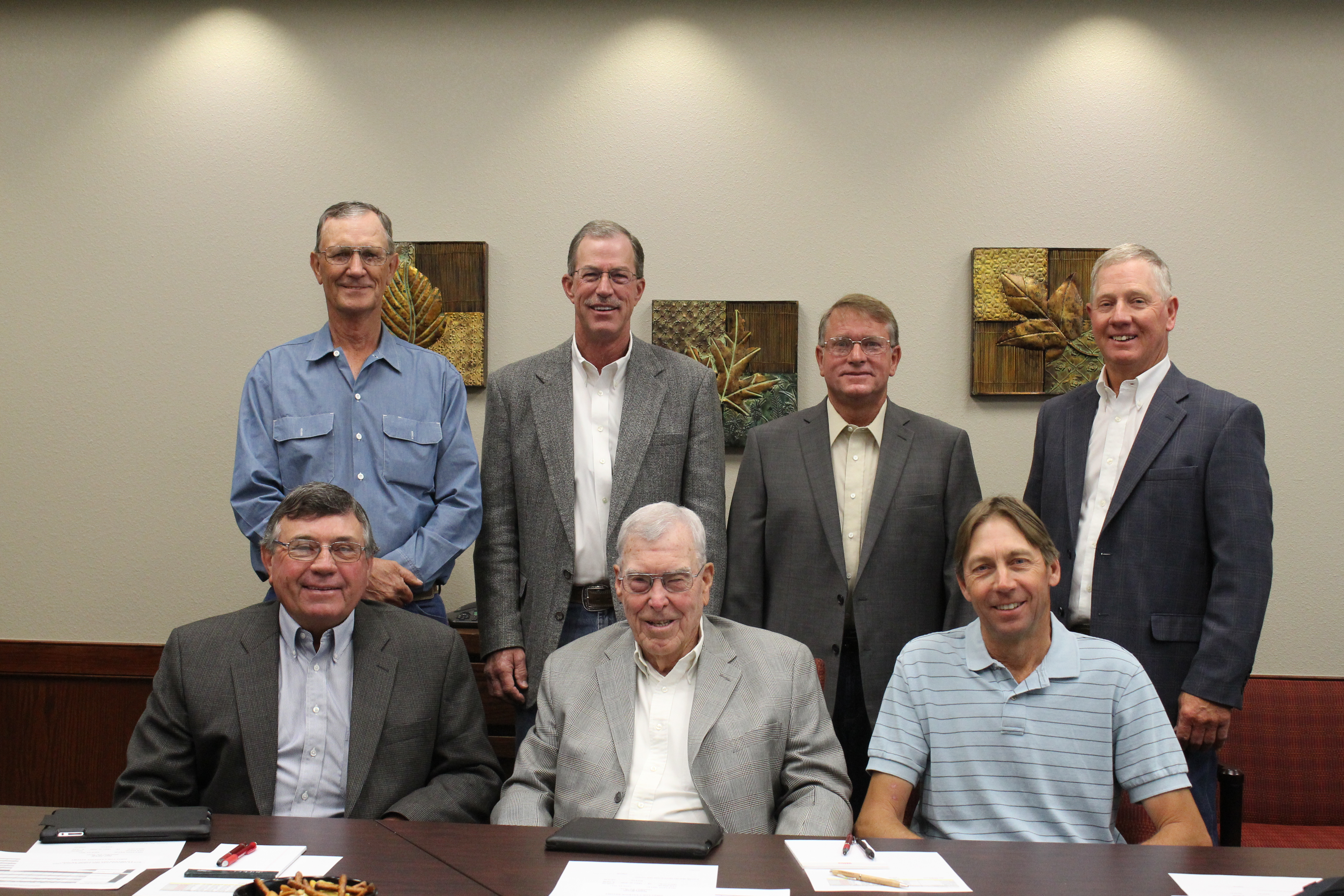 Group photo of the Bailey County Electric Board of Directors