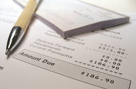 Photo of Pen, checkbook and bill to represent Payment Options